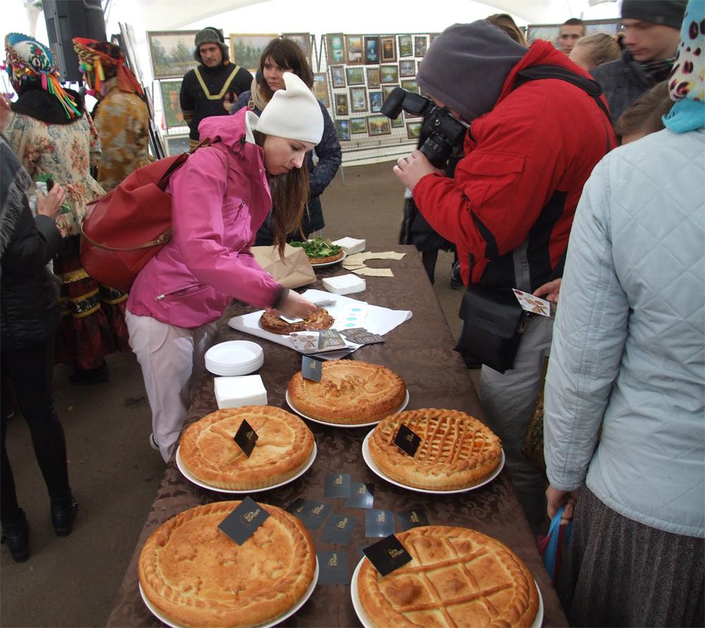 Пироги на ярмарку